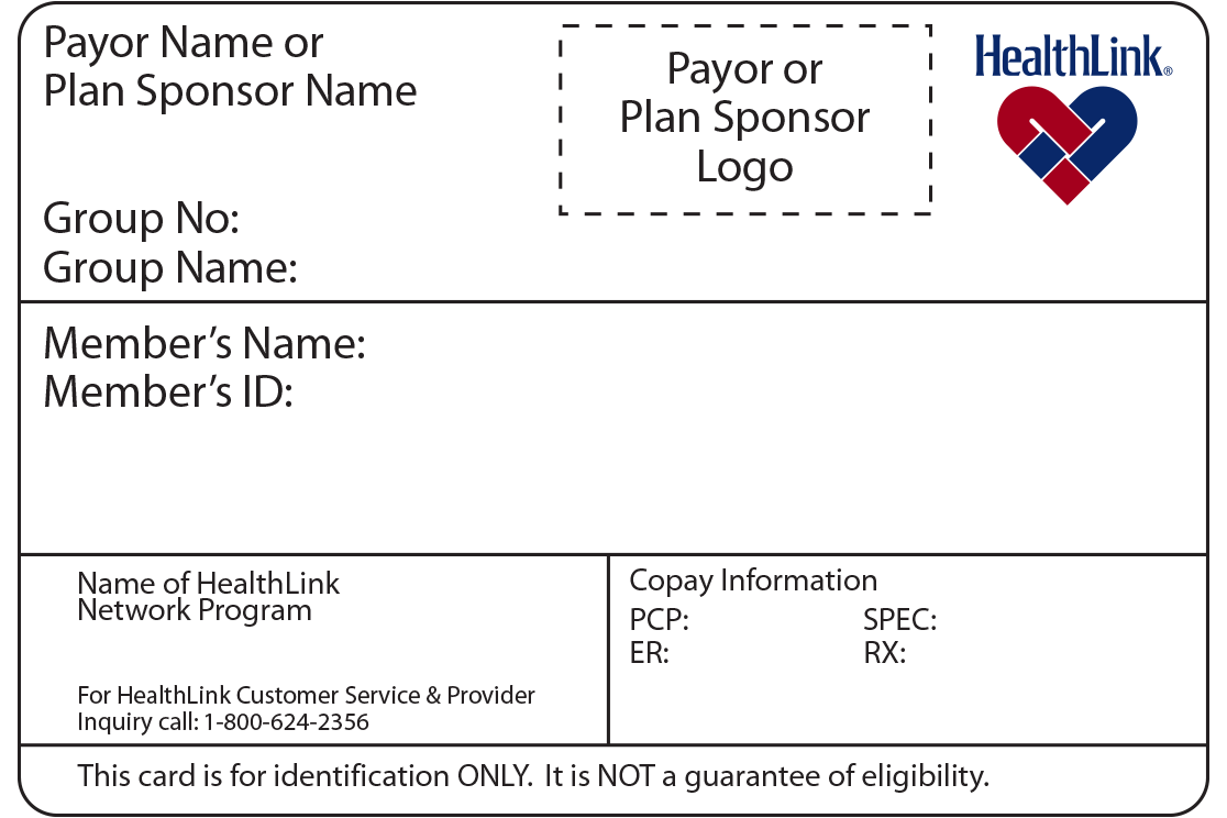 ID Card Requirements | HealthLink